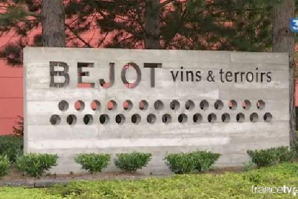 La maison Béjot à Meursault, en Côte-d'Or, exploite 530 hectares de vignes en France, dont 260 en Bourgogne, et emploie 200 salariés.