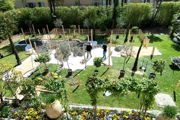 Le festival des jardins à Grasse en 2019.