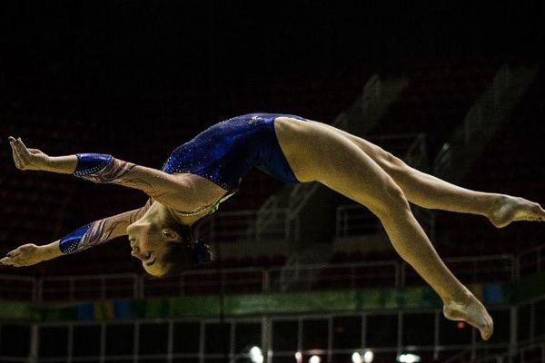Louise Vanhille, ce week-end à Rio.