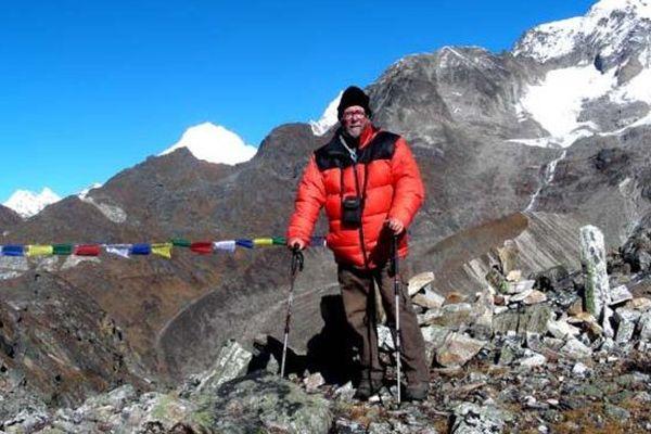 Roland Dozière au Népal