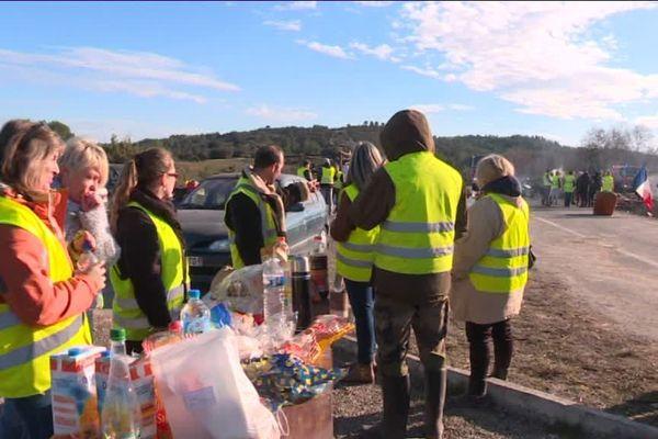 Le Préfet du Gard a décidé d'interdire tout rassemblement ou manifestations jusqu'à samedi minuit à Alèssur trois secteurs où se positionnent régulièrement les gilets jaunes.