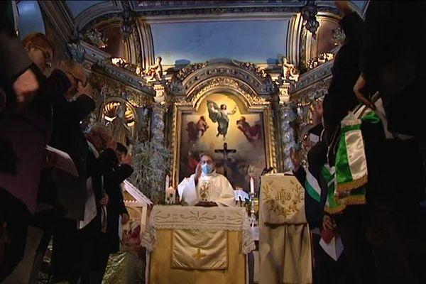 La célébration de l'épiphanie à la chapelle Saint-Aurélien de Limoges