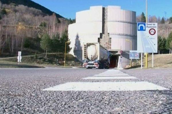 Le tunnel de Puymorens en 2012