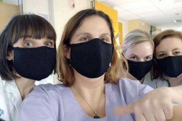 Les premiers masques livrés au CHRU de Lille