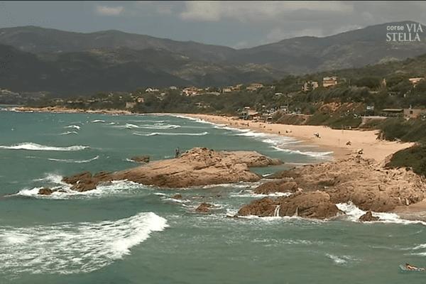 La plage de Santana, dans le golfe de Sagone est surveillée depuis le 17 juin par les Sauveteurs en mer.