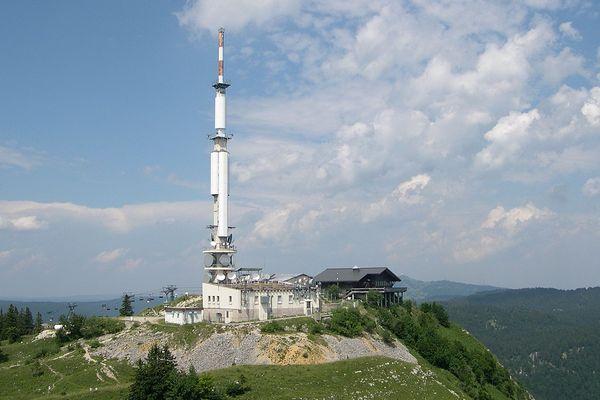 L'émetteur du Mont Rond.