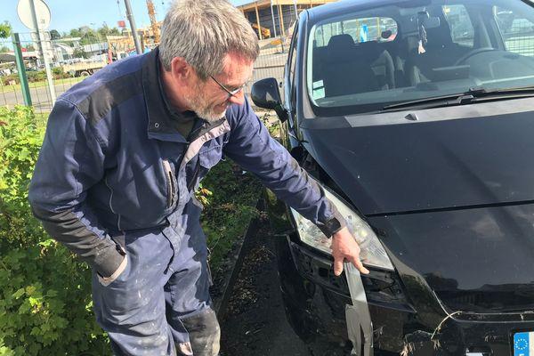 Patrice Barada, carrossier, confirme : beaucoup de collisions avec des chevreuils en ce moment