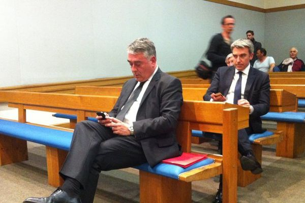 Gilles Bourdouleix à l'audience devant la Cour d'Appel