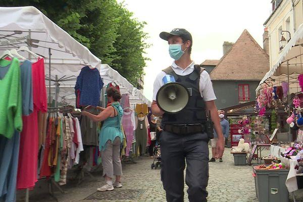 A Honfleur, le port du masque est désormais obligatoire en ville.