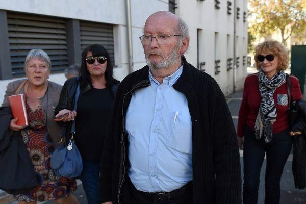 Jean-Claude Mas à son arrivée au procès en appel le 16 novembre