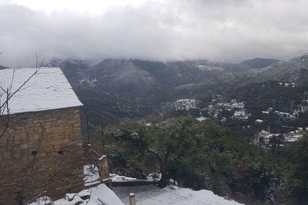 San Lorenzo, en Haute-Corse, est situé à 700 mètres d'altitude.