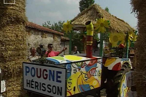 Image extraite du reportage consacré au premier festival du Nombril du Monde en 1990