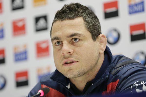 Le capitaine des Bleus Guilhem Guirado portera les couleurs de Montpellier la saison prochaine.