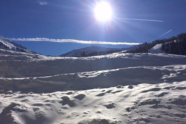 Il a neigé sur les sommets du Mercantour