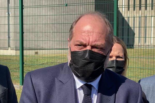 Le ministre de la Justice, Eric Dupont-Moretti s'est rendu au centre pénitentiaire de Gradignan ce lundi 19 avril 2021.