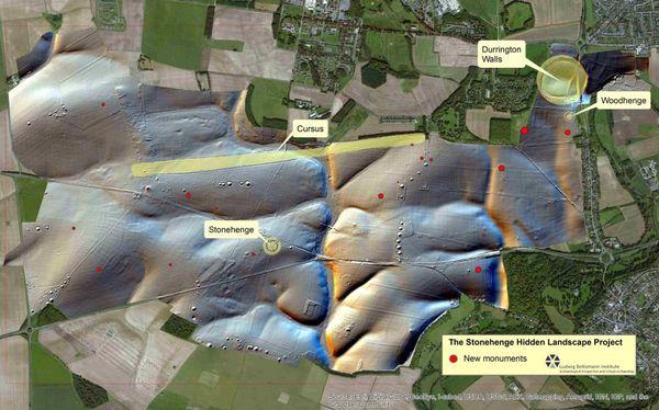 Le site a été découvert à Durrington Walls à quelques kilomètres de Stonehenge.