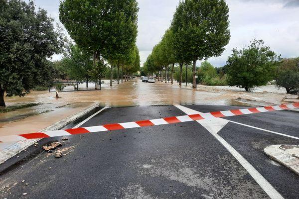 Inondations dans le Gard, le 14 septembre 2021.