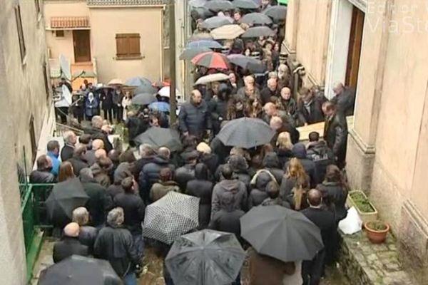 Les obsèques de Jean Leccia se sont déroulées le 27 mars dans son village de San Gavinu di Fiumorbu