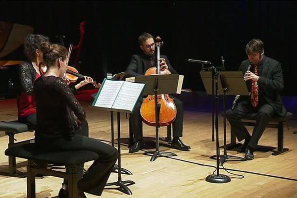 Besançon, l'orchestre Tétraktys a fêté ses 30 ans hier soir, jeudi 6 décembre 2018
