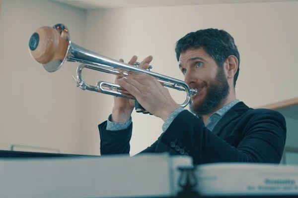 Frédéric Aubin, trompettiste