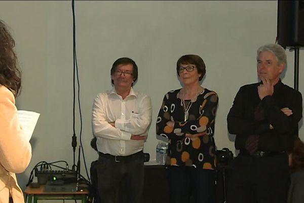 Première des conférences sur l'art paléolithique en Europe avec Christian Hilaire, Eliette Brunel et Jean-marie Chauvet