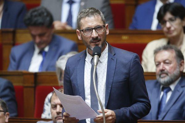 Illustration/Matthieu Orphelin, député LREM, à l'Assemblée nationale