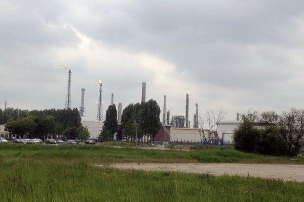 Une fuite d'hydrogène a eu lieu ce vendredi à l'usine Exxon mobil.