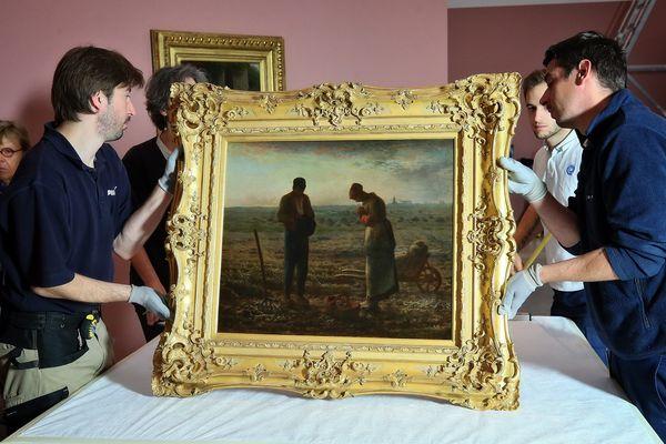 L'Angelus, le tableau le plus célèbre du peintre.