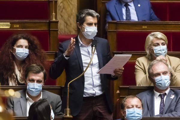 François Ruffin, à l'Assemblée nationale. Image d'illustration.