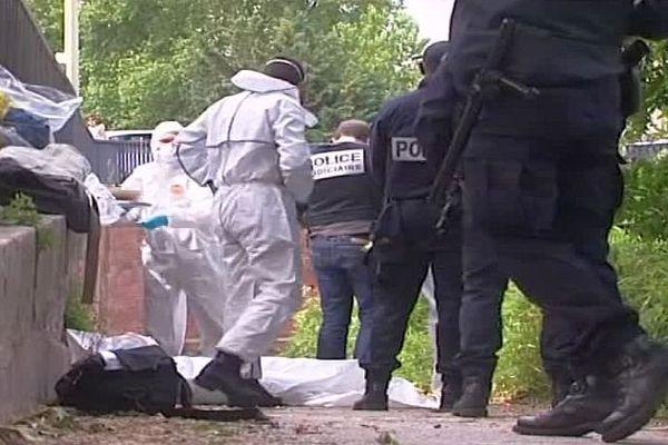 Toulouse - des morceaux du corps de la victime retrouvés dans le Canal du Midi - mai 2016.