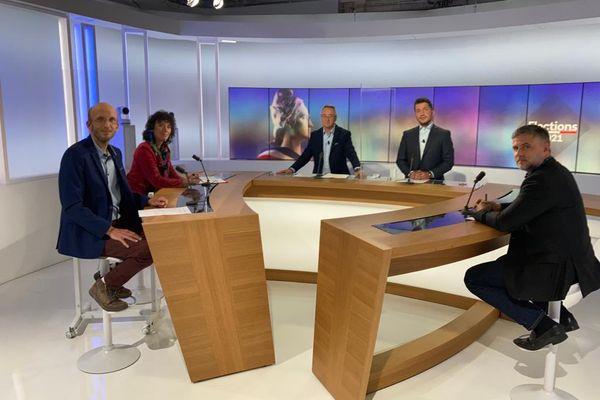 Toulouse - le débat des Départementales dans l'Ariège - 7 juin 2021.
