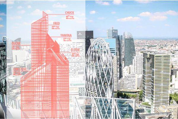 Vertigo, une course verticale solidaire à l'assaut de la tour First, à La Défense.