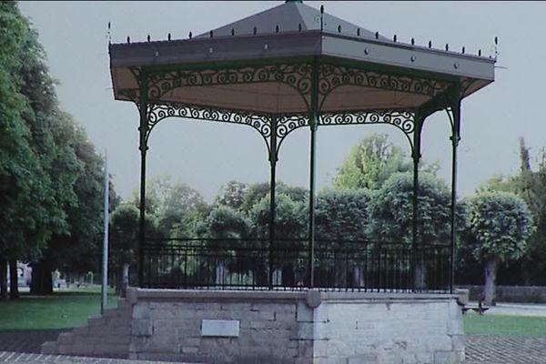 """Le kiosque à musique de la ville de Tonnerre dans l'Yonne sera baptisé """"Kiosque Baptiste Chevreau"""""""