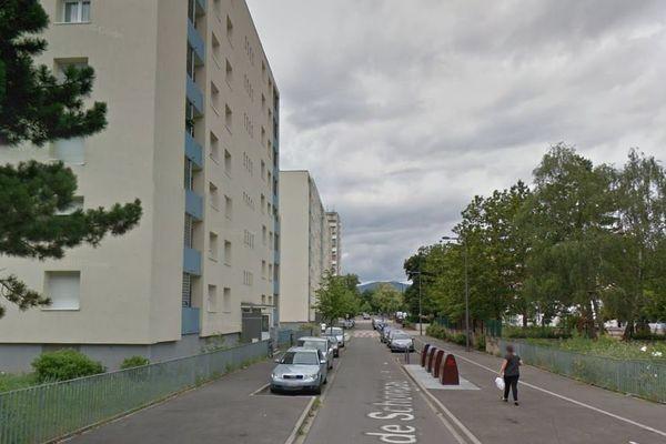 L'incendie s'est déclaré au 7 rue de Schongau à Colmar