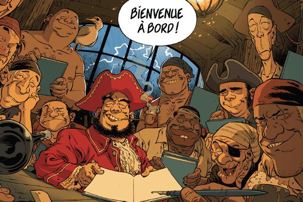 Les pirates sont de retour à Saint-Malo ! Cette année, l'affiche du festival est signée Sylvain Vallée.