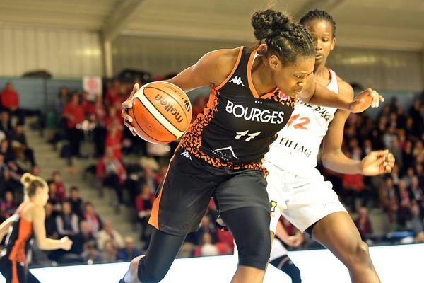 L'ailière Valériane Ayayi va-t-elle à nouveau signer un gros match ce mercredi face à Prague?