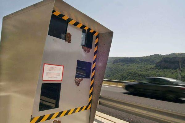 Dans le TOP 10 des radars qui ont le plus flashé en 2017, deux se trouvent sur l'A40 en Haute-Savoie