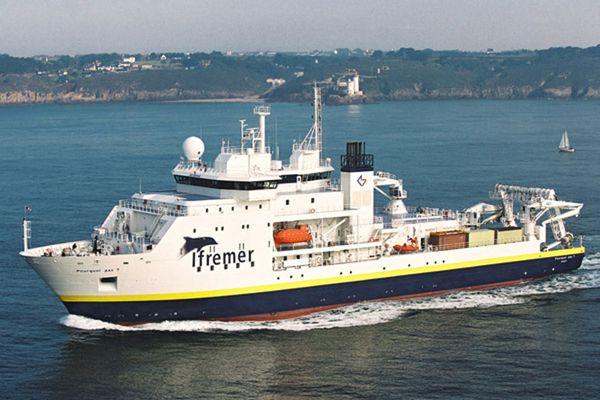 """Le """"Pourquoi pas ?"""", l'un des fleurons de la flotte océanographique de l'Ifremer, va bénéficier d'une cure de jouvence"""