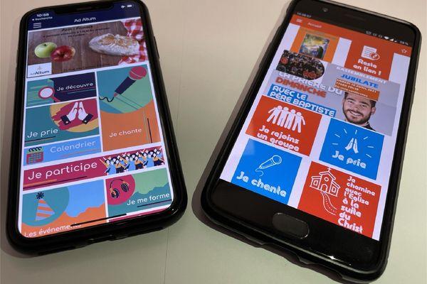 Le diocèse de Reims-Ardennes lance deux applications pour smartphone pour attirer les jeunes fidèles et conserver le lien depuis la situation sanitaire qui rend les rassemblements difficiles.