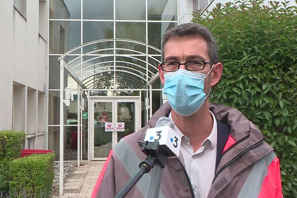Luc Petit, directeur du territoire pour la région Centre-Val de Loire à Veolia.