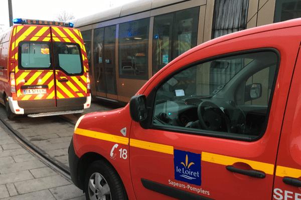 L'intervention des pompiers ce matin à proximité de la station Saint-Marceau.