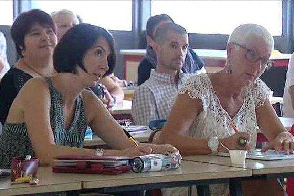 Les enseignants ont effectué leur rentrée ce lundi 21 août 2015