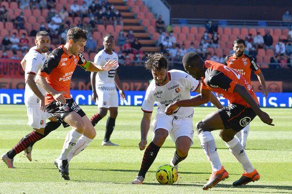 Lorient et Rennes dos à dos