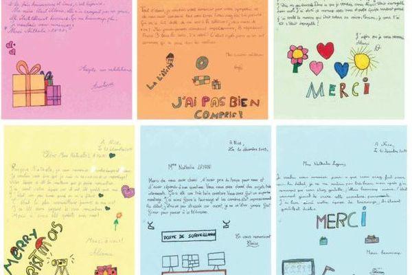 Après le tournage dans cette école, l'équipe de France 3 a reçu des lettres de remerciement.