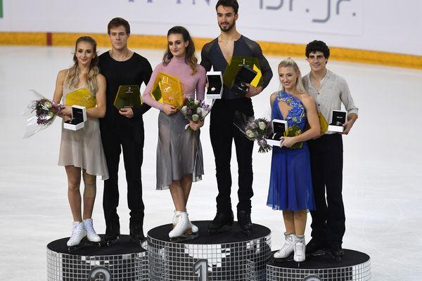 Gabriella Papadakis et Guillaume Cizeron remportent, samedi 24 novembre 2018,  les Internationaux de France de Patinage.