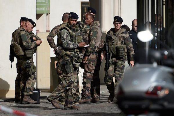 LEs militaires du 35 ème RI de Belfort