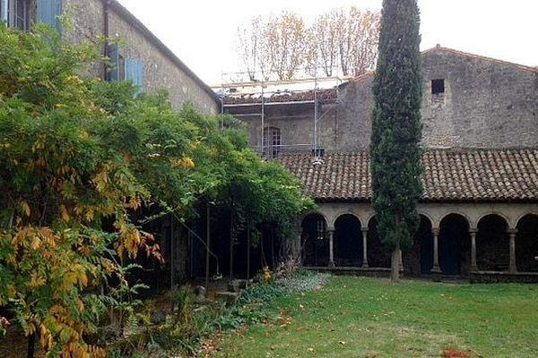 Saint-Martin-le-Vieil (Aude) - l'Abbaye de Villelongue - 3 novembre 2015.