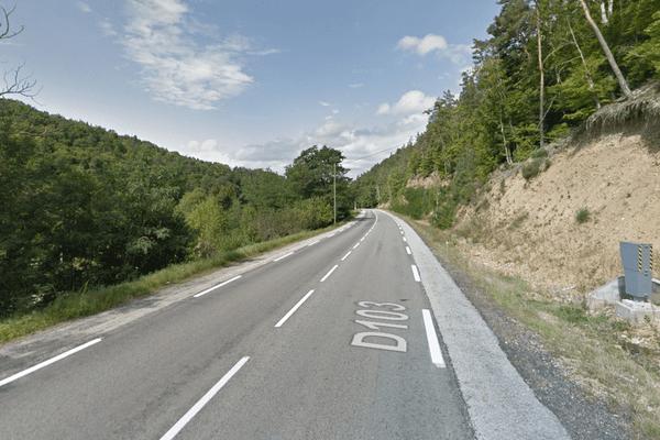 L'accident s'est produit le 17 octobre, sur la RD103, entre Yssingeaux et Retournac, en Haute-Loire.