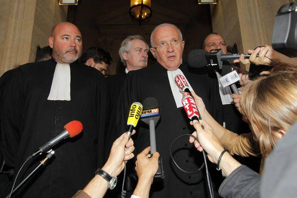 L'heure du verdict pour Yvan Colonna au palais de justice de Paris, 2011.