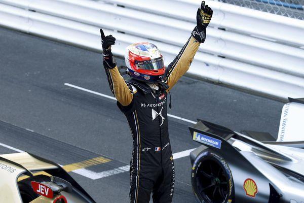 Jean-Eric Vergne a remporté la 3ème édition du e-Prix à Monaco avec Techeetah.